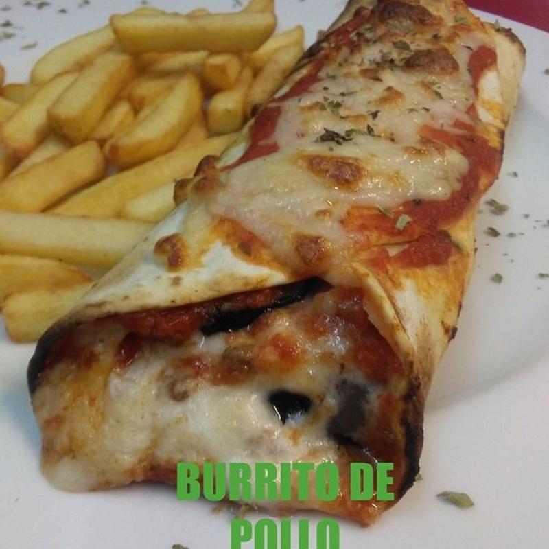 Menú del día sábados y domingos (comidas): Carta de Pizzería Restaurante La Góndola