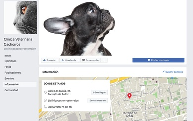 Abrimos página de Facebook