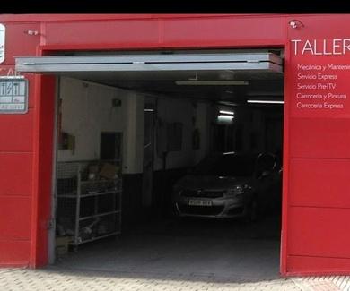 taller mecánico Paseo de Extremadura, Madrid