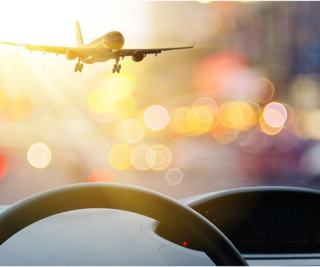 ¿En coche o en taxi al aeropuerto?
