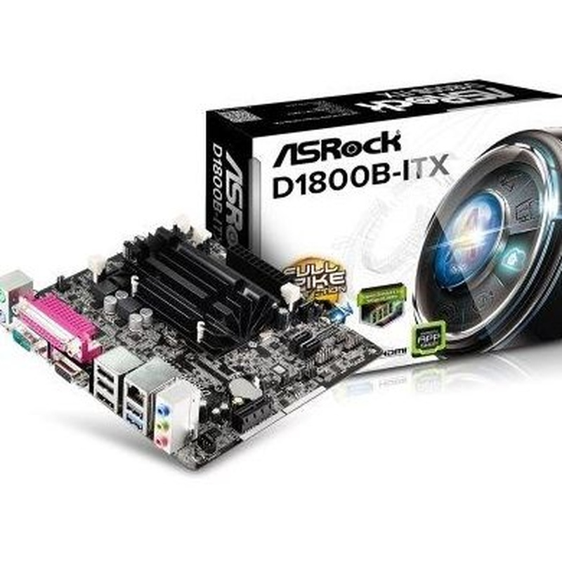 Asrock Placa Base D1800B-ITX mITX CPU Integrada : Productos y Servicios de Stylepc
