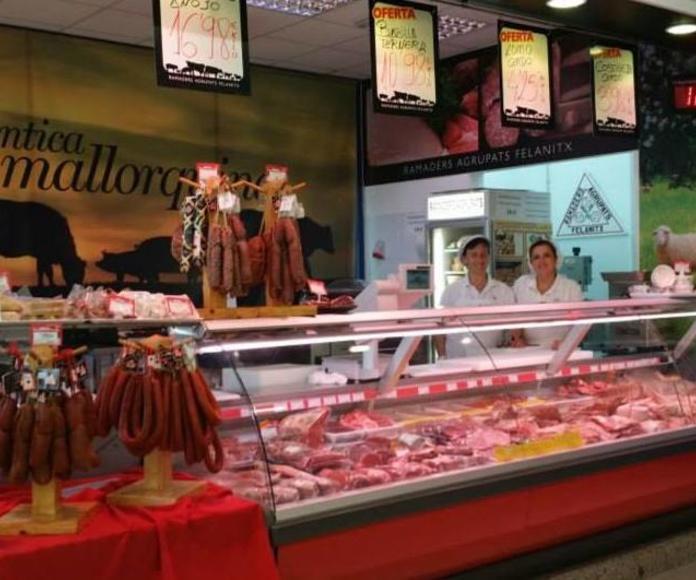 Carnicería en el Lidl Aragón