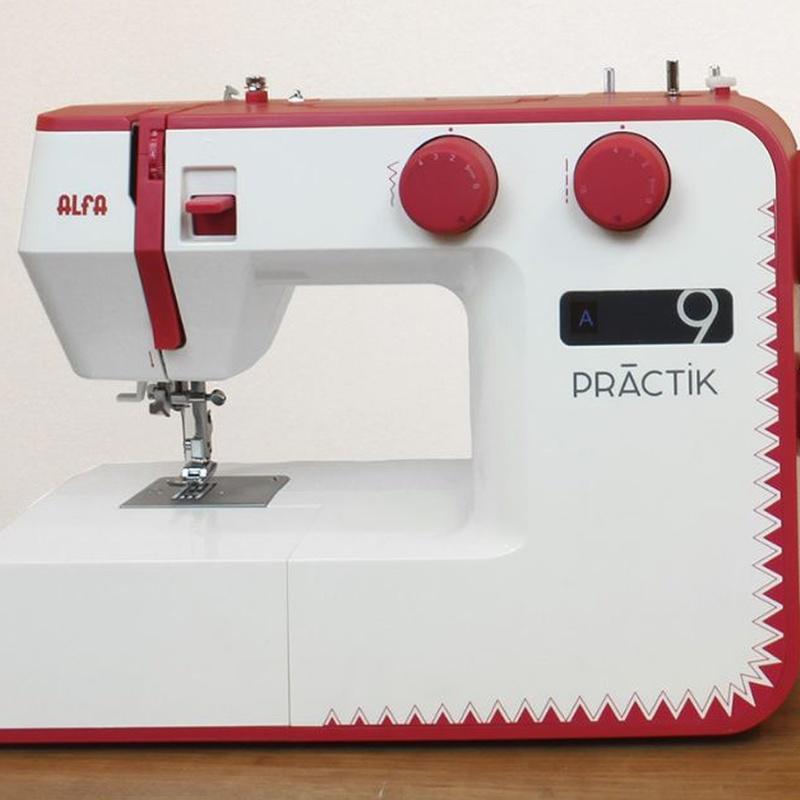 Alfa Practik 9: Productos de Maquinas de Coser - Servicio técnico y repuestos