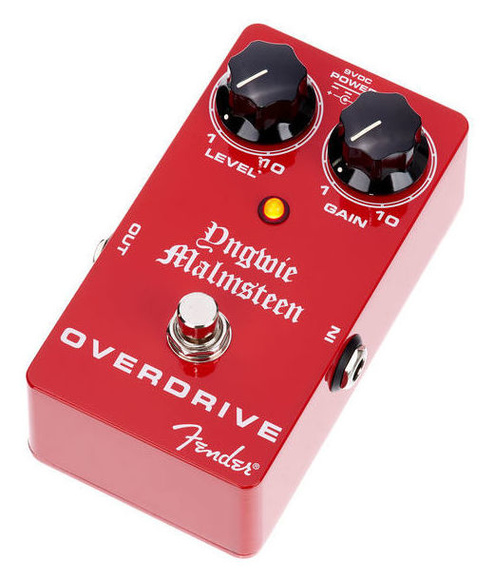 Pedal de efecto overdrive Fender Malmsteen Overdrive