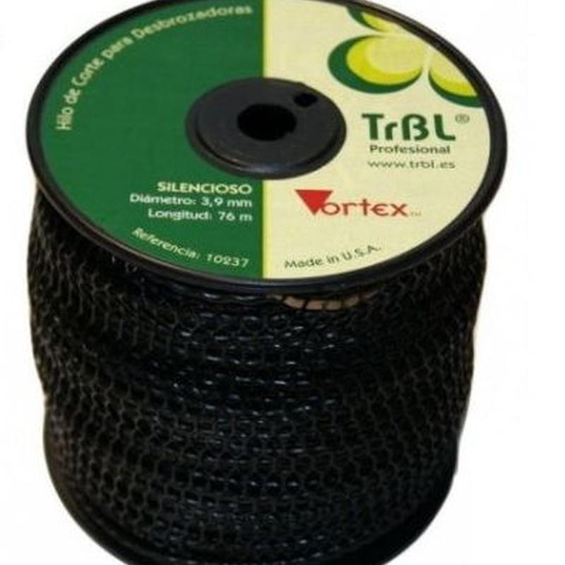 NYLON TRBL SILENCIOSO 2,4 mm - 208 metros Código: 0010336: Productos y servicios de Maquiagri