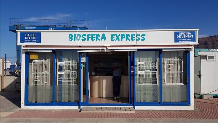 Rates: Biosphere Express de Biosfera Express Puerto de Órzola