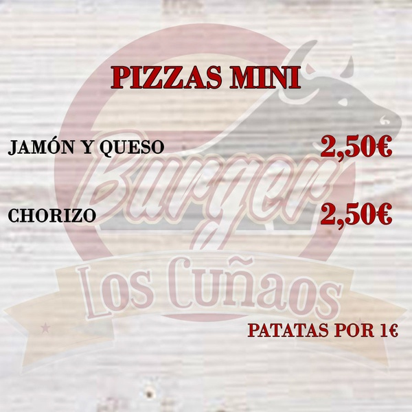 Pizzas mini