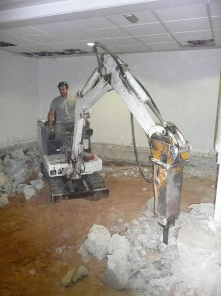Miniretro Excavadora: Productos y servicios de Contrasa