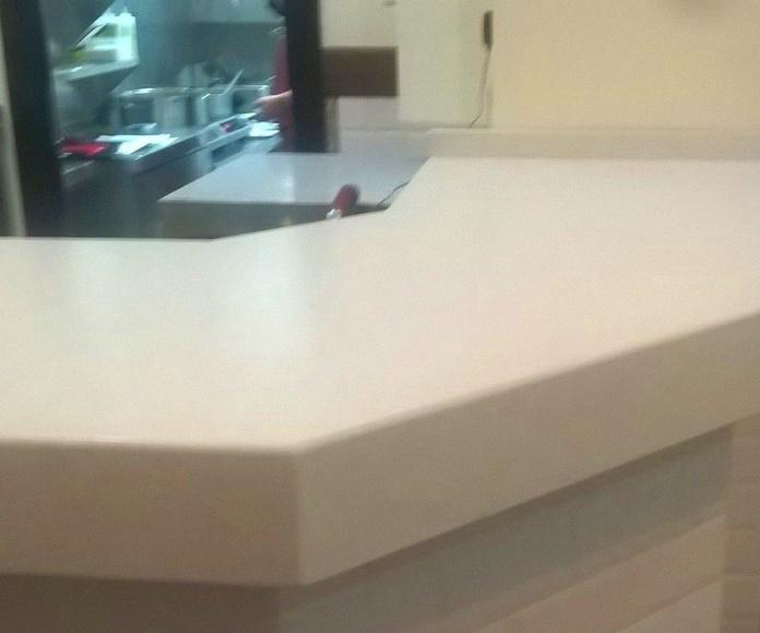 barras de marmol Zaragoza