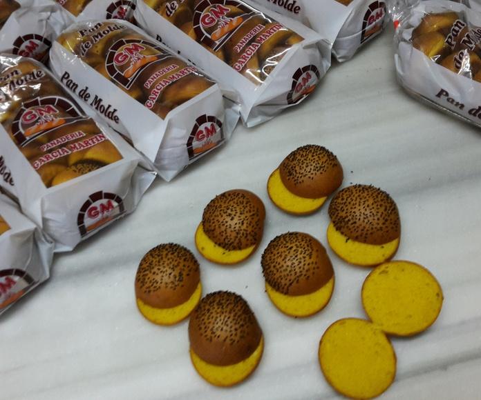 Panes para hamburguesas: Productos de Panadería García Martín