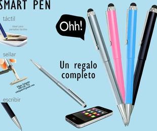 Bolígrafos con sello de caucho