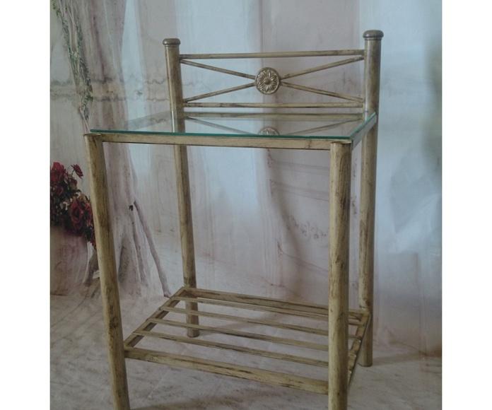 Mesita Torreblanca: Catálogo de muebles de forja de Forja Manuel Jiménez