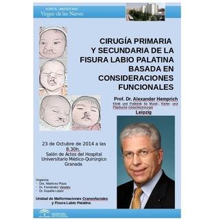 JORNADA TEÓRICO/QUIRÚRGICA DE LA FISURA LABIO PALATINA EN EL HOSPITAL VIRGEN DE LAS NIEVES