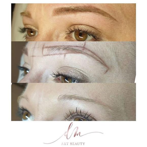Micropigmentación de cejas en Sants