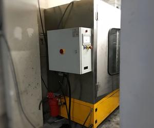 Máquina de limpieza de filtro de partículas en Madrid