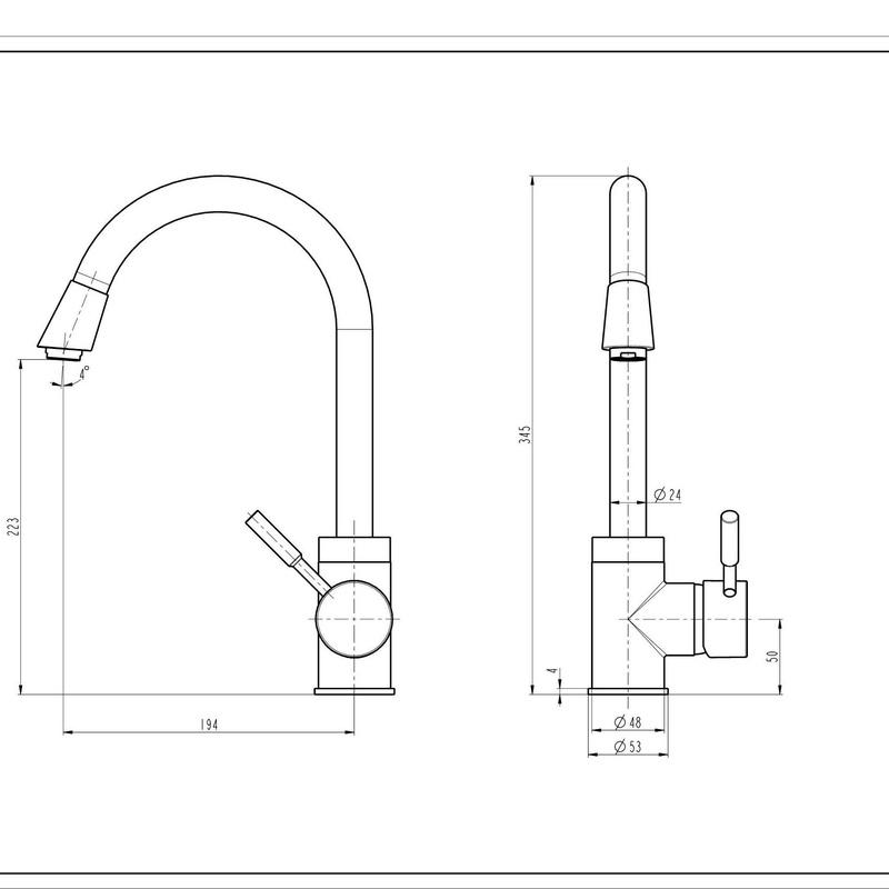 Grifo Monomando Vertical GF0100: Catálogo de apluscocinas