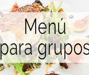 Menú para Grupos
