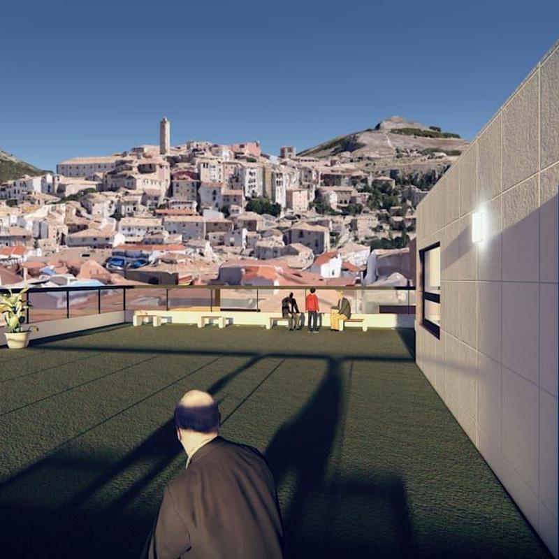 El Parador de San Julián: Alfaro Arquitecto de Alfaro Arquitecto 3A3, S.L. Tlf: 606406555