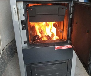 Calefacción con caldera de leña