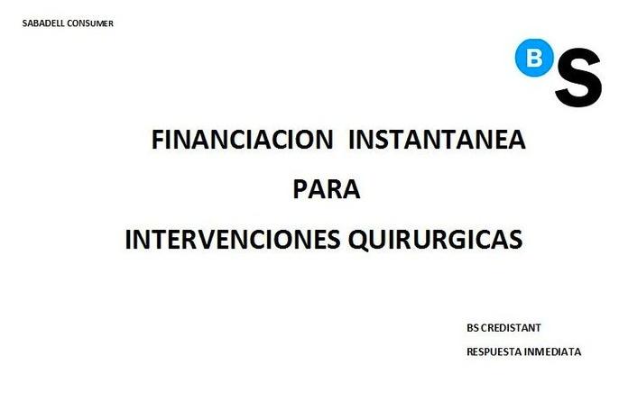 Financiación Inmediata