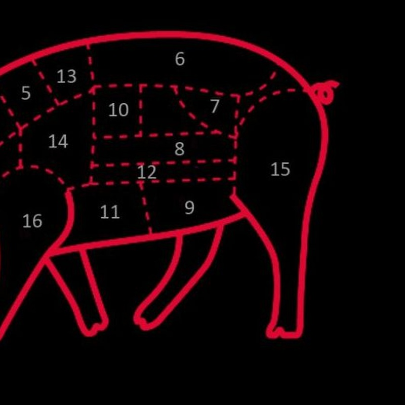 Carne de cerdo Ibérico Pedro Nieto (Guijuelo - Salamanca):  de Sergivan-Mar