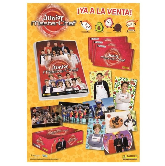 Coleccion MasterChef Junior