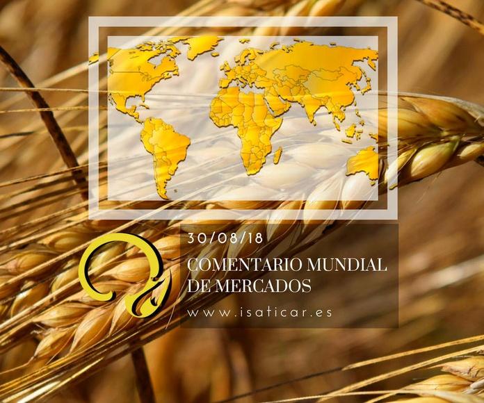 Informe internacional de mercados 30.08.18