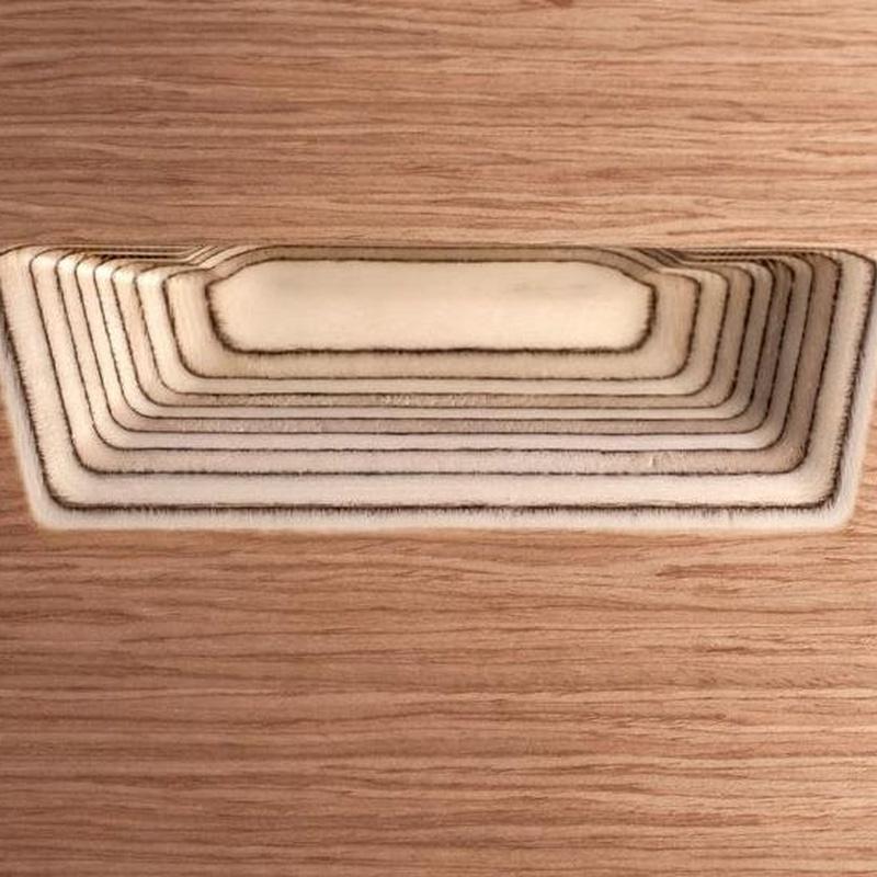 Cocina Delta mod. Kala puerta con uñero integrado