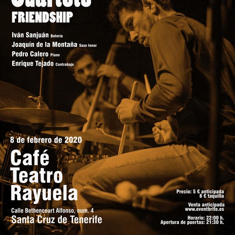IVÁN SANJUÁN CUARTETO: Programación de Café Teatro Rayuela