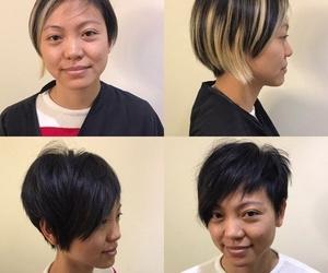 Cambio de estilo de chica - corte y color