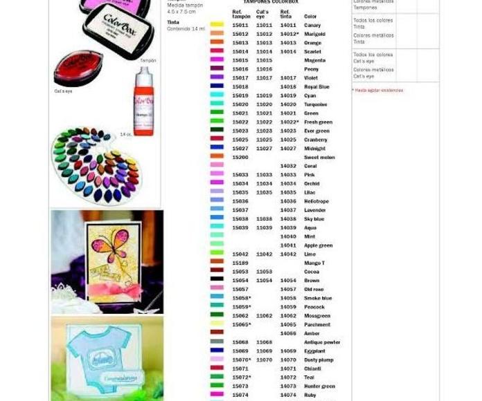Tampones - Almohadillas - Tintas: Servicios  de Mayju Sellos