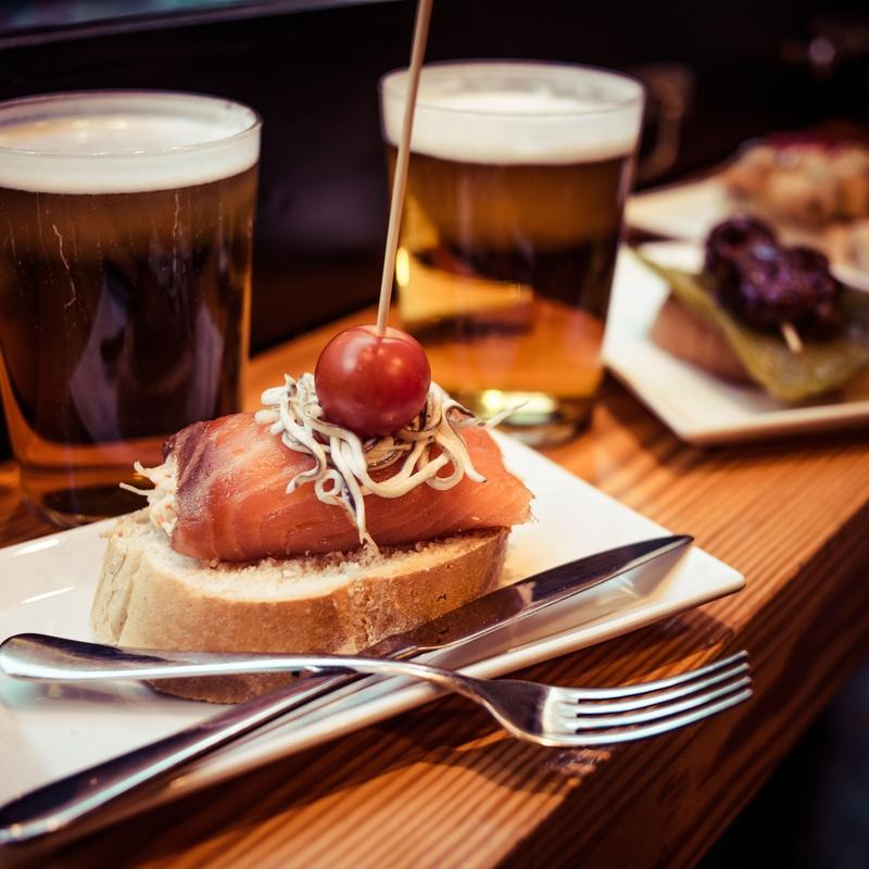 Menú de empresas con tapas: Tapas y Raciones de Restaurant Cafetería L'Estadi