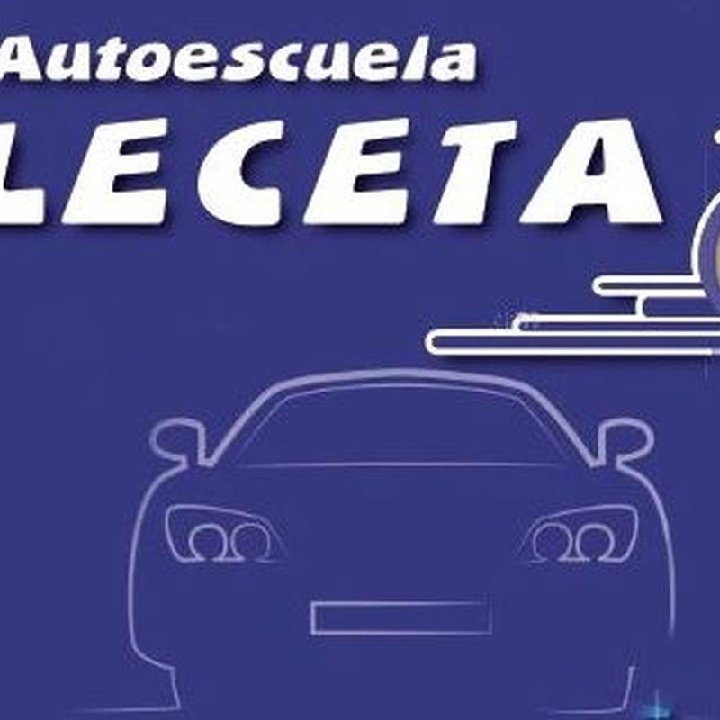Permisos: PERMISOS de Autoescuela Leceta