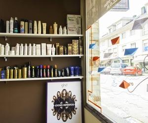 Expositor de productos para el cabello