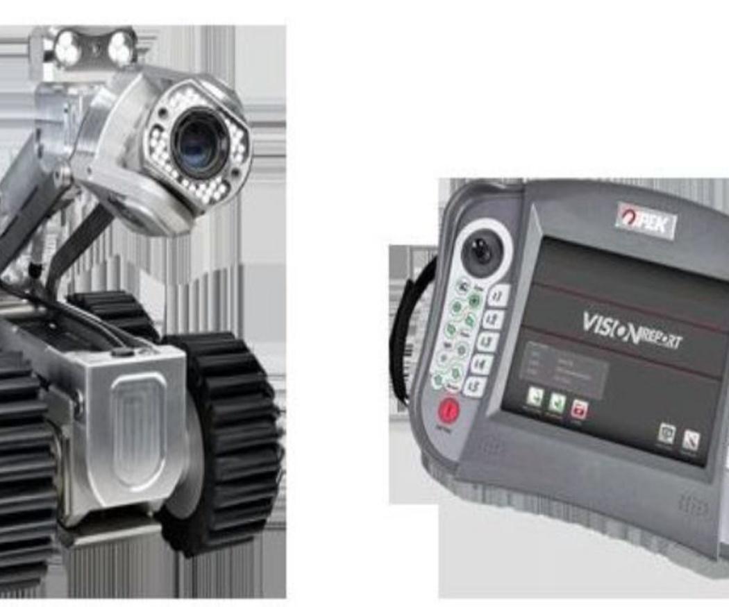La inspección de tuberías con cámaras
