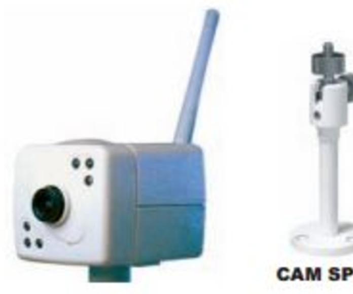 Cámaras de vigilancia B/N RF: Productos de Electrónica Praga