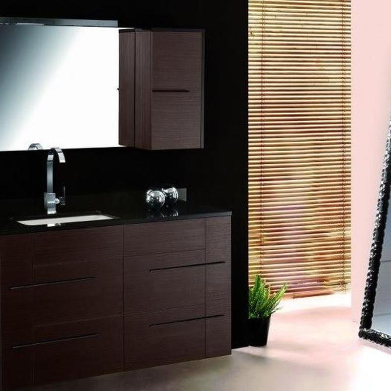 Mueble de baño Vidrebany colección Elle modelo Suelo