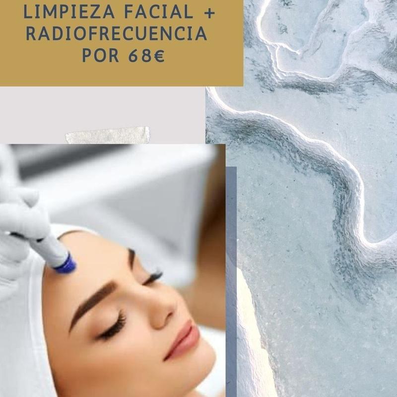 Limpieza facial + Radiofrecuencia: Servicios de Duoestetica