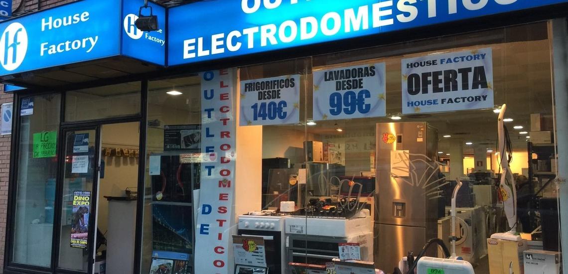 Electrodomésticos con tara en Valdemoro
