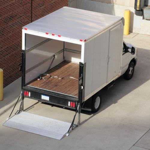 Camión frigorífico en Ourense