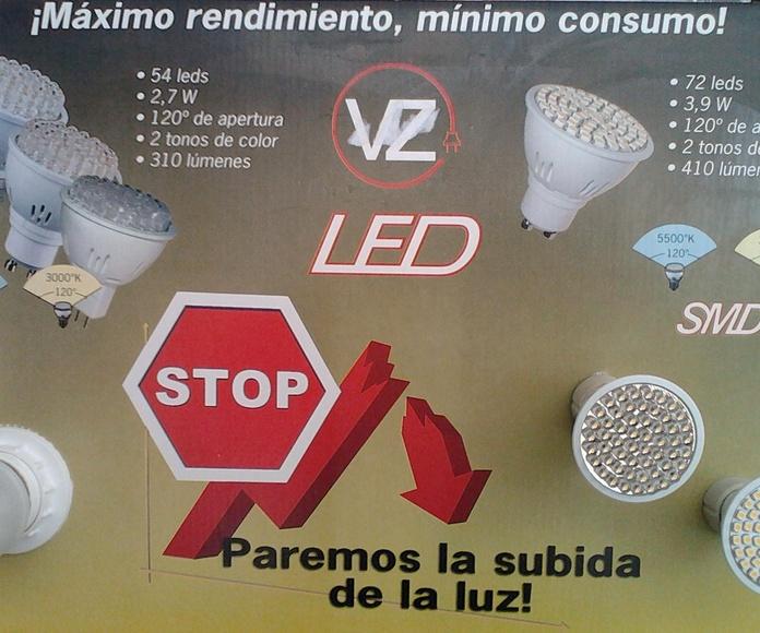 lamparas leds