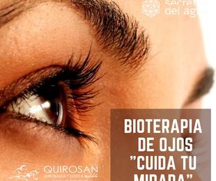 """¡¡NOVEDAD!! Bioterapia de OJOS """"Cuida tu mirada"""""""