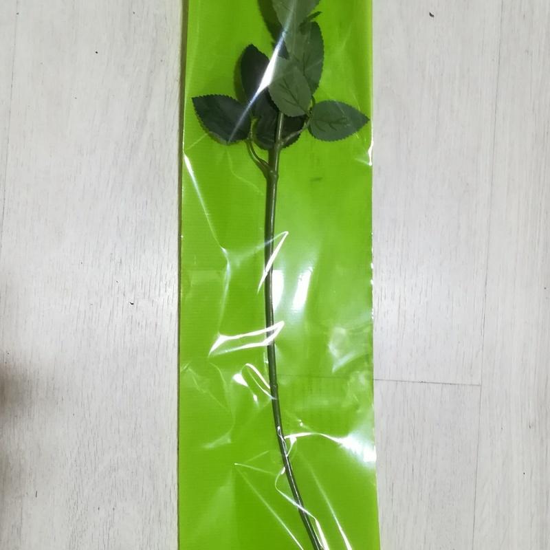 PQTE. (x 100 unid.) FONDO LISO (16x70 cm.) VERDE. PRECIO: 15 €
