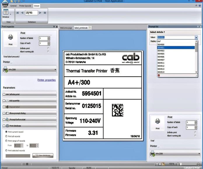 Software de Etiquetado CabLabel S3: Productos y Servicios de  S T G L O B A L