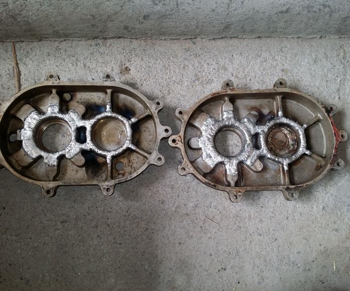 carcasa motor aluminio