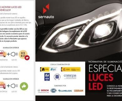 Campaña informativa sobre la importancia de las Luces LED homologadas para la seguridad vial