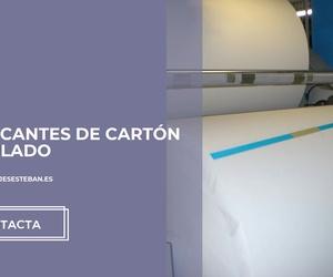 Planchas de cartón en Valencia | Embalajes Esteban