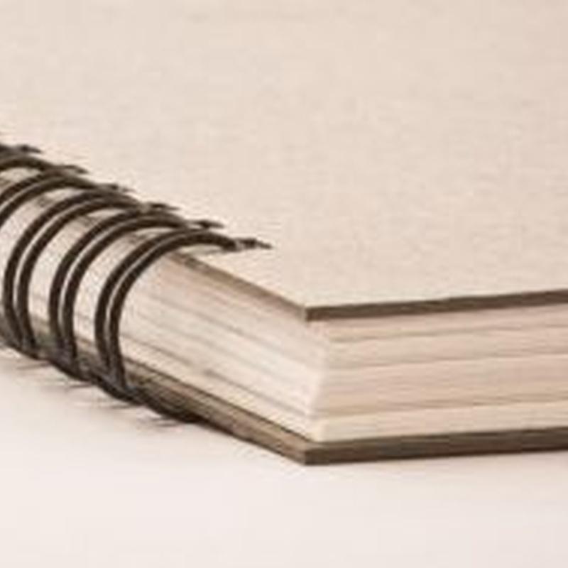 Encuadernación: Trabajos de Copias Prado