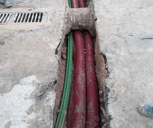 Línea subterránea de Baja Tensión, según normativa Iberdrola