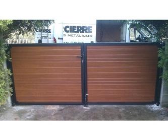Puertas de garaje: Productos y servicios  de Norcierre